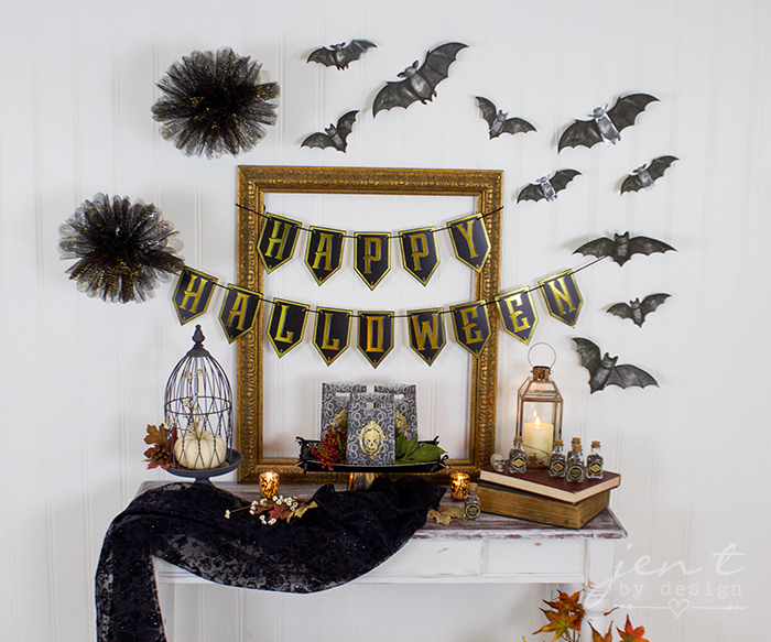 Spooky Halloween Dinner Party With Cricut And Martha Stewart Jen T
