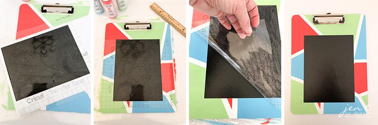 DIY Chalkboard Idea - Jen T by Design #cricut #cricutmarthastewart #ad