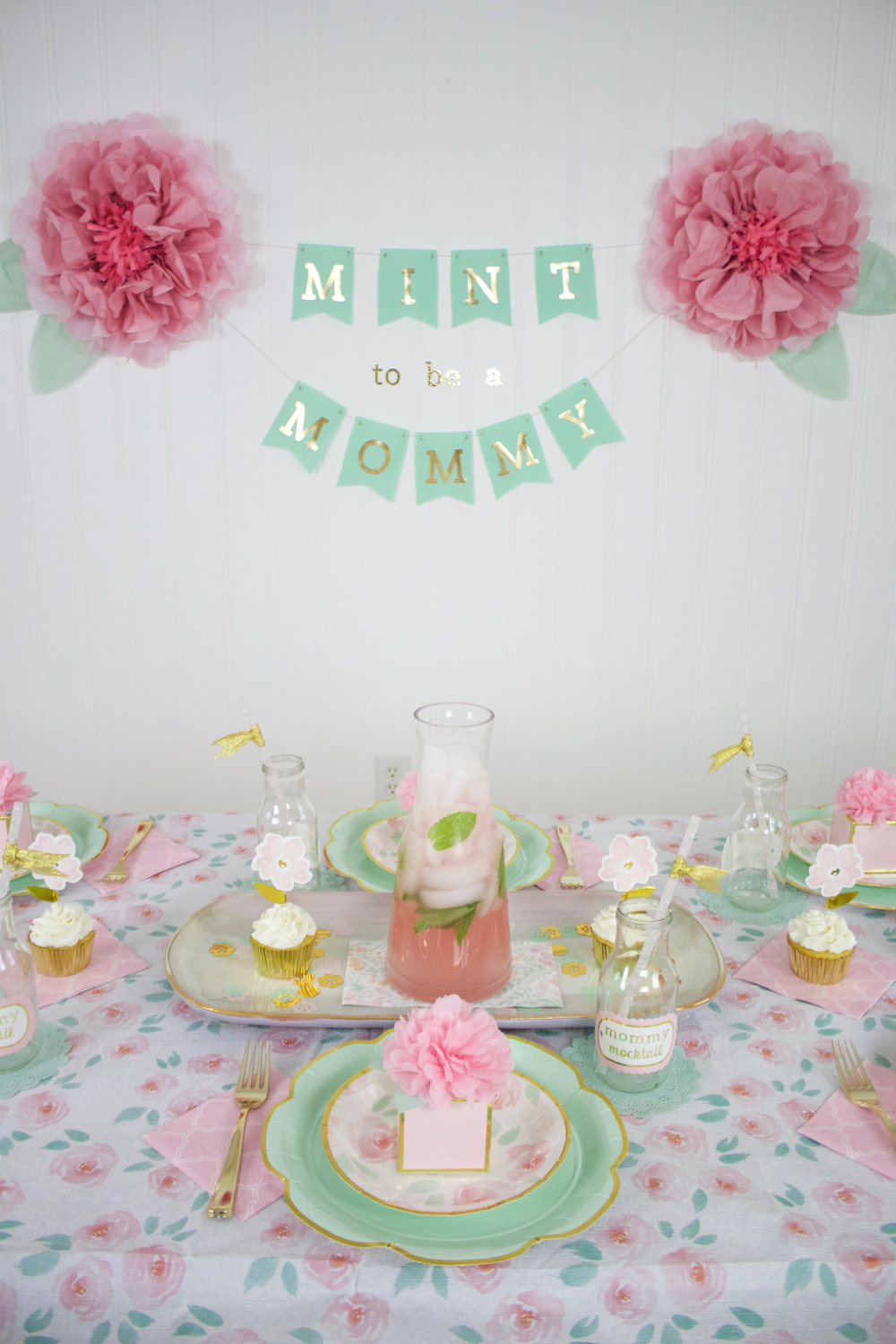 """Mint to Be a Mommy"" Baby Shower"""