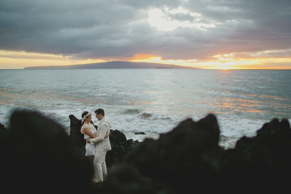 Just Married in Maui Hawaii