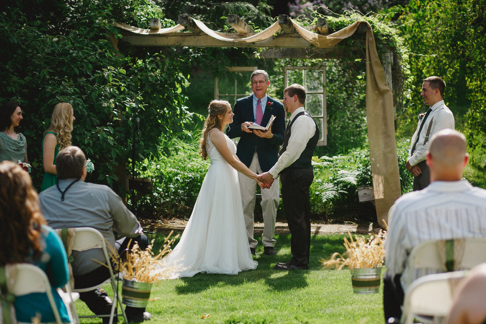 Wedding Ceremony at French Gulch