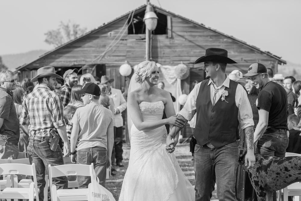 Country Wedding in Spokane Washington