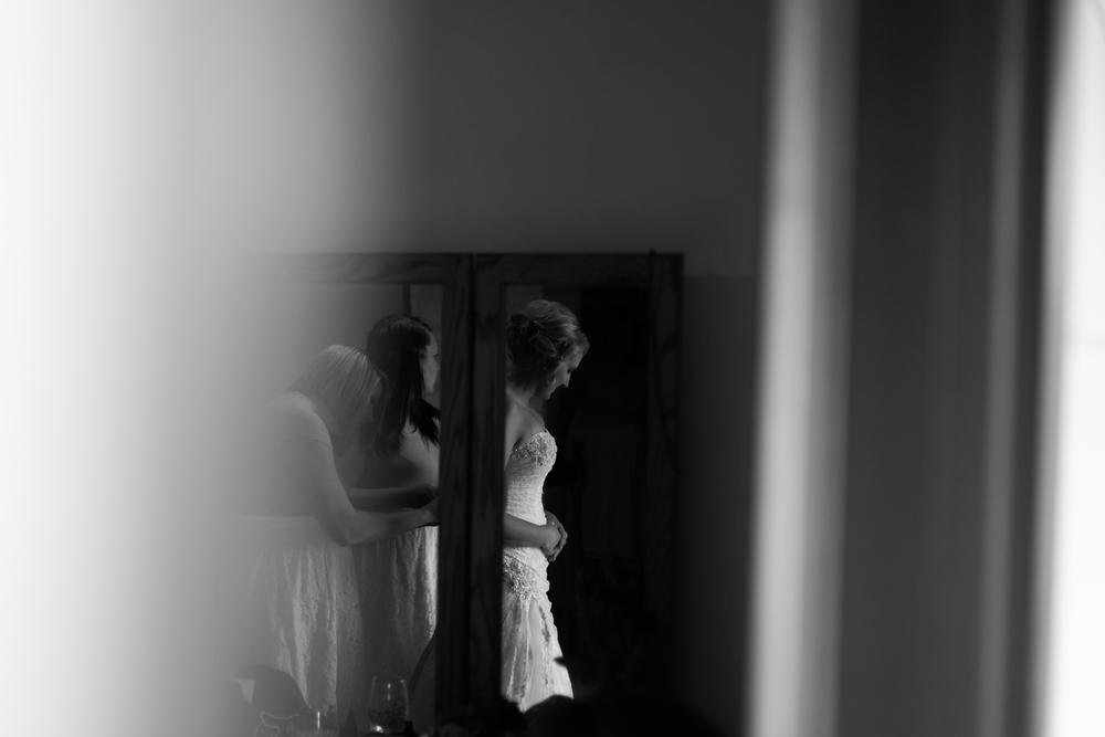 Country Wedding, Getting Ready, Spokane WA