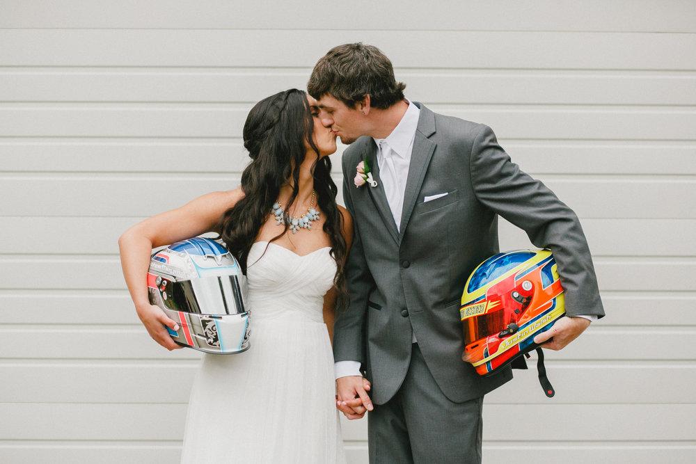 Racing Wedding at Aspen Groves