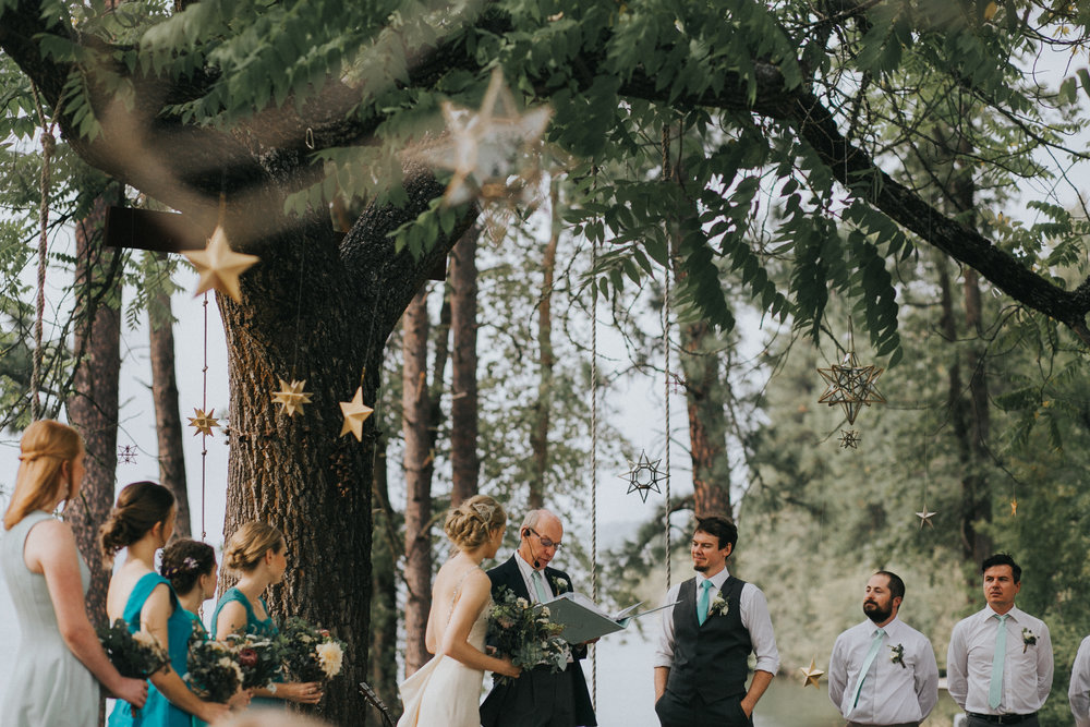 Whimsical Space Themed Wedding at N-Sid-Sen