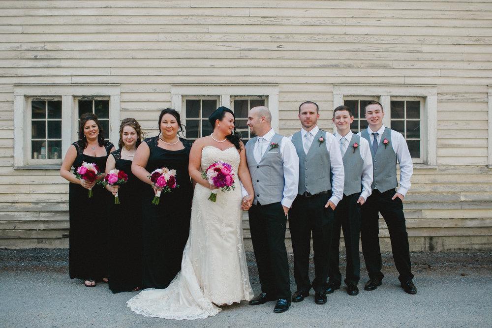 Bridal Party at Commelini Estates