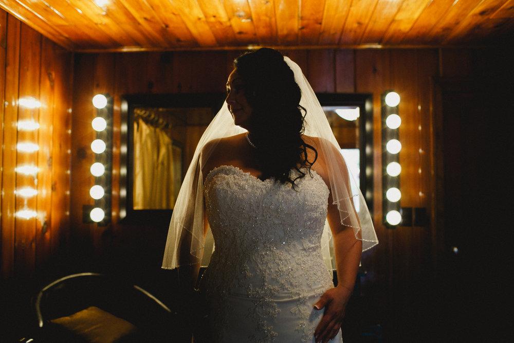Commelini Estate Getting Ready Wedding Portrait