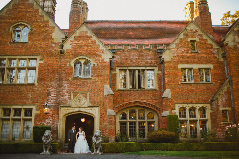Thornewood Castle in all its wedding glory
