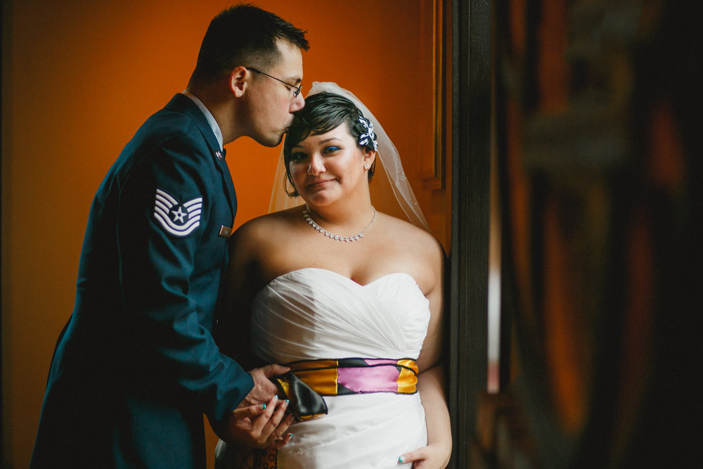 Jackelin Arts Cultural Center Halloween Military Wedding