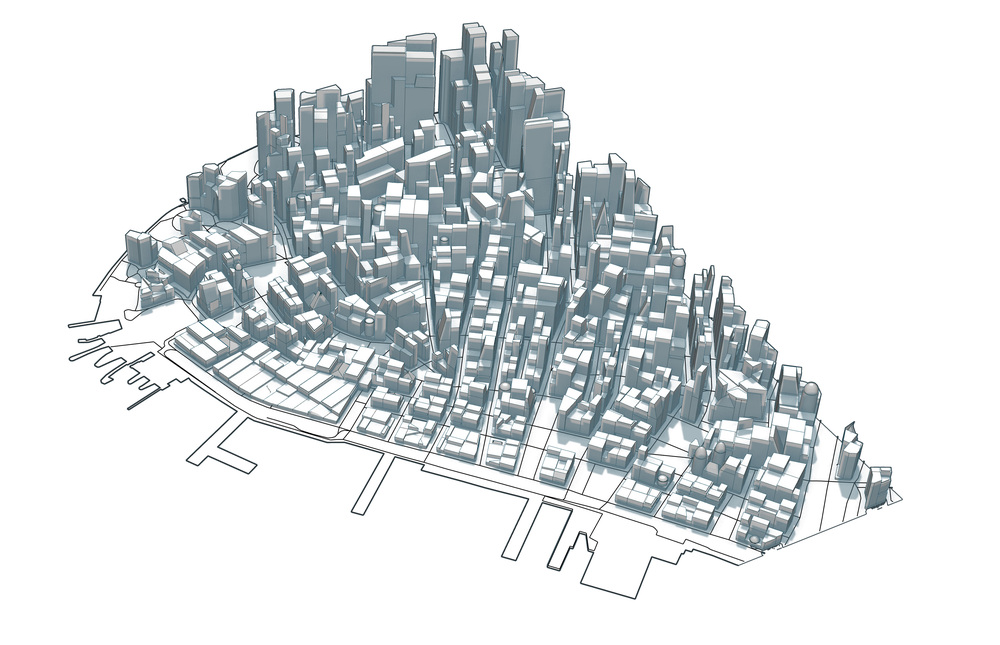 INFINICITIES: LOWER MANHATTAN GRID TEST