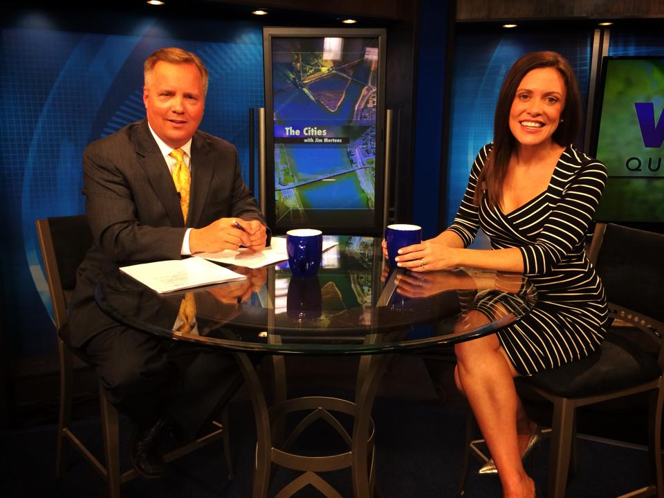 Whitney Reynolds and Jim Mertens on WQPT's The Cities