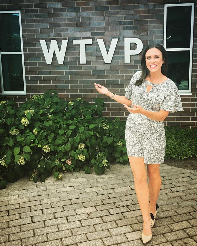 Love meeting new markets & spreading inspiration through our topics! Peoria you are beautiful, loved seeing y'all today! @wtvp_pbs