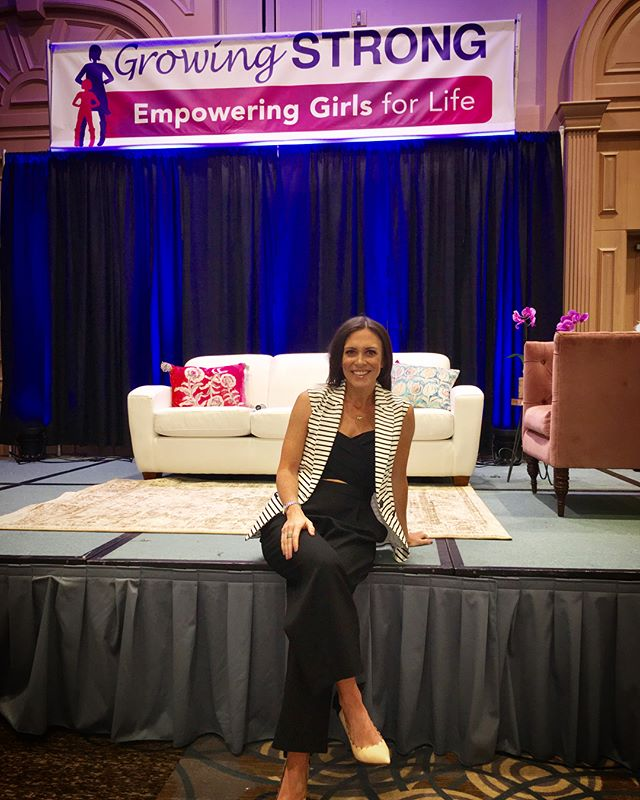 YOU ARE ENOUGH. Honored to share that message today at @empoweringgirlsforlife