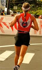 Feeling good on the Kona run course!