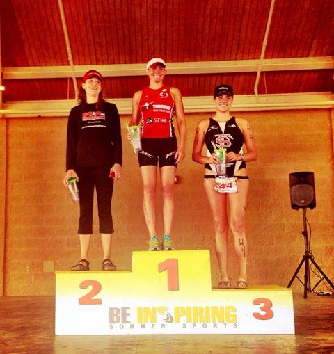 3/23/14 1st Place Female- Great Clermont Triathlon