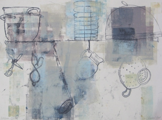 Kitchen Quiet , mixed media, 2010