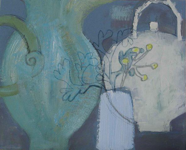 Picked from the Shoreline,  mixed media, 2012