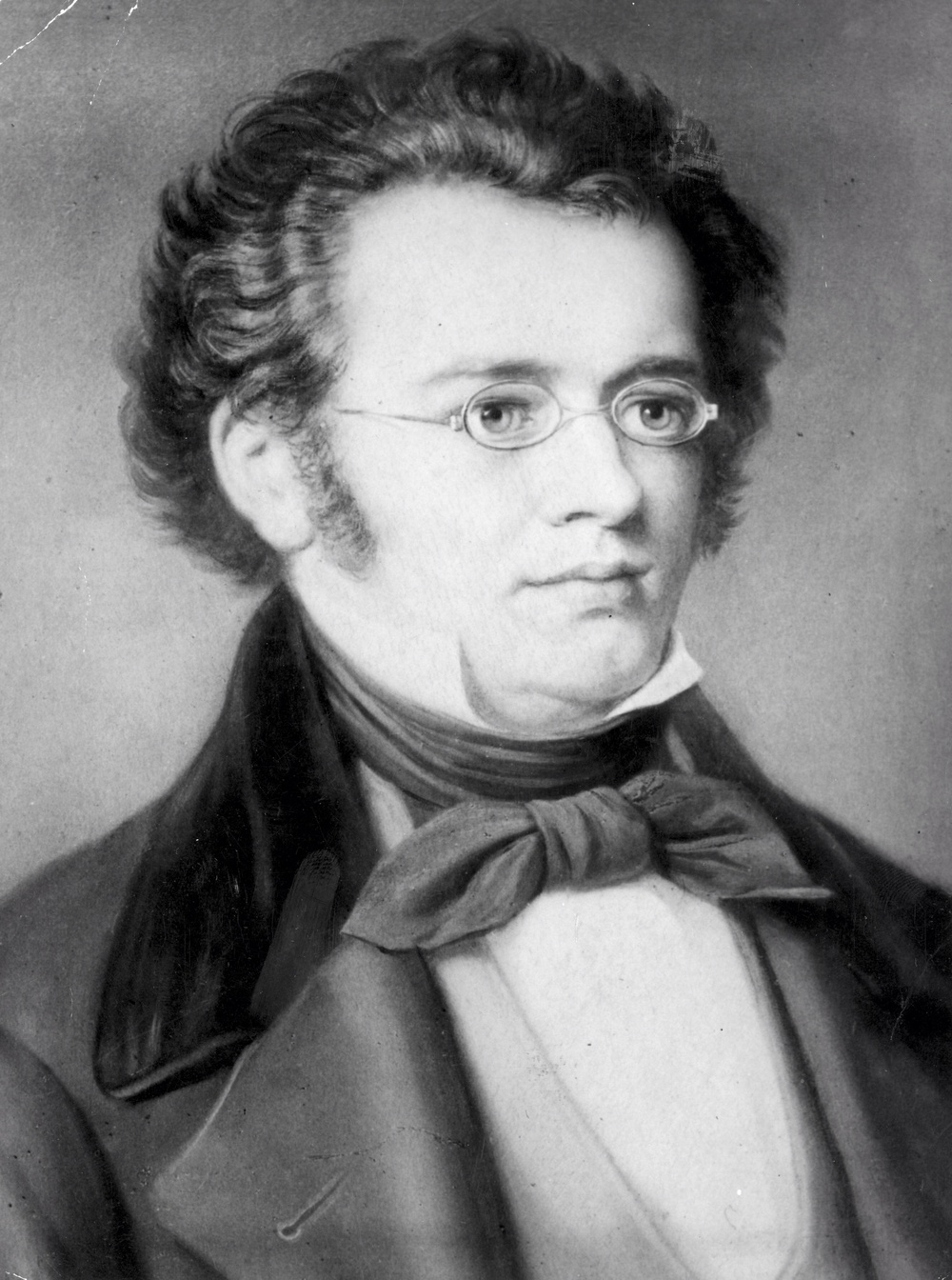 Schubert-he looks like such a nice guy!  Little did he know that he'd be tiring orchestras out for centuries to come.