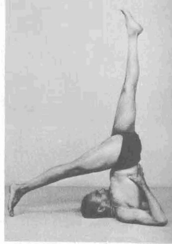 Iyengar was one of the main teachers of the 20th century who touted this pose as the most beneficial, as well as headstand.  He is also built like gumby, and his lifestyle and body is not similar to most of my musician and yoga realm colleagues.  He also does not have female breast tissue, otherwise he might have reconsidered the suffocating detriment of this pose.