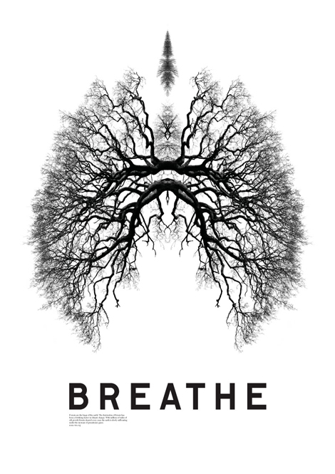 "We've all seen the posters and images that say ""just breathe"" and whatnot, but there is a touch of truth to that.  Connecting to the quality of your breath is a great way to get control of your autonomic nervous system, which ultimately works independently."