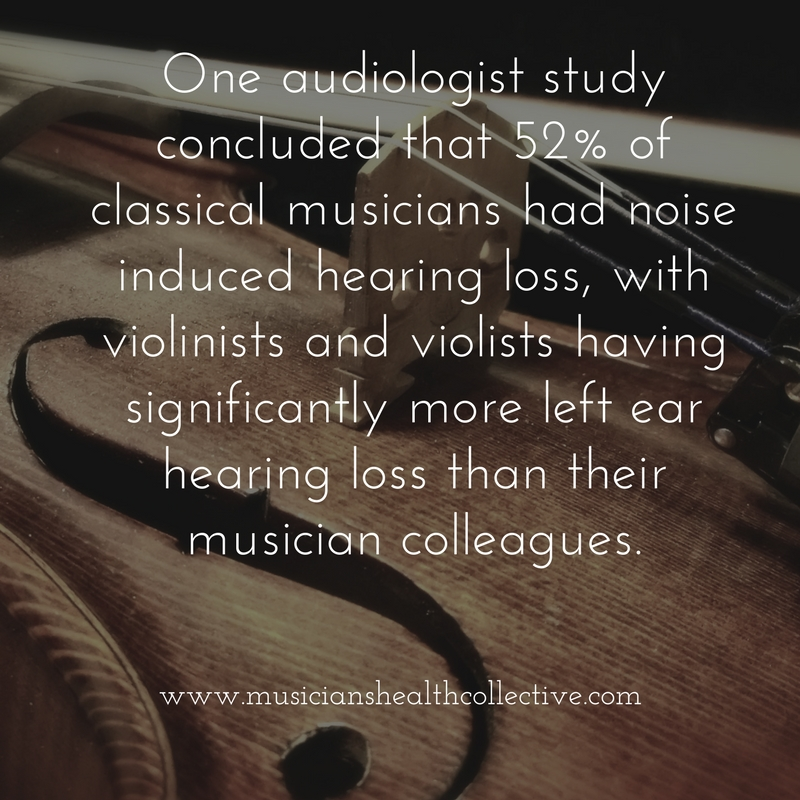 One study study concluded that violinists and violists had significantlymore left ear hearing loss than their musician colleagues.jpg