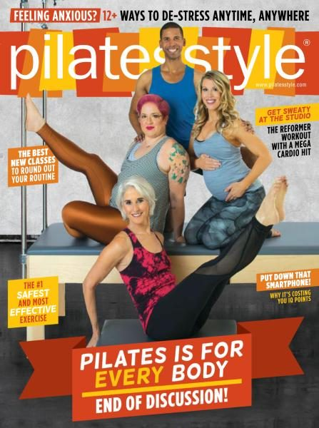 I loved this fall issue of  Pilates Style  but was crushed to hear that Anula Maiberg was body shamed on the internet for her appearance in her article.  Take a class with her, and you'll see that she's smart and well informed, and more importantly, the classes are hard!