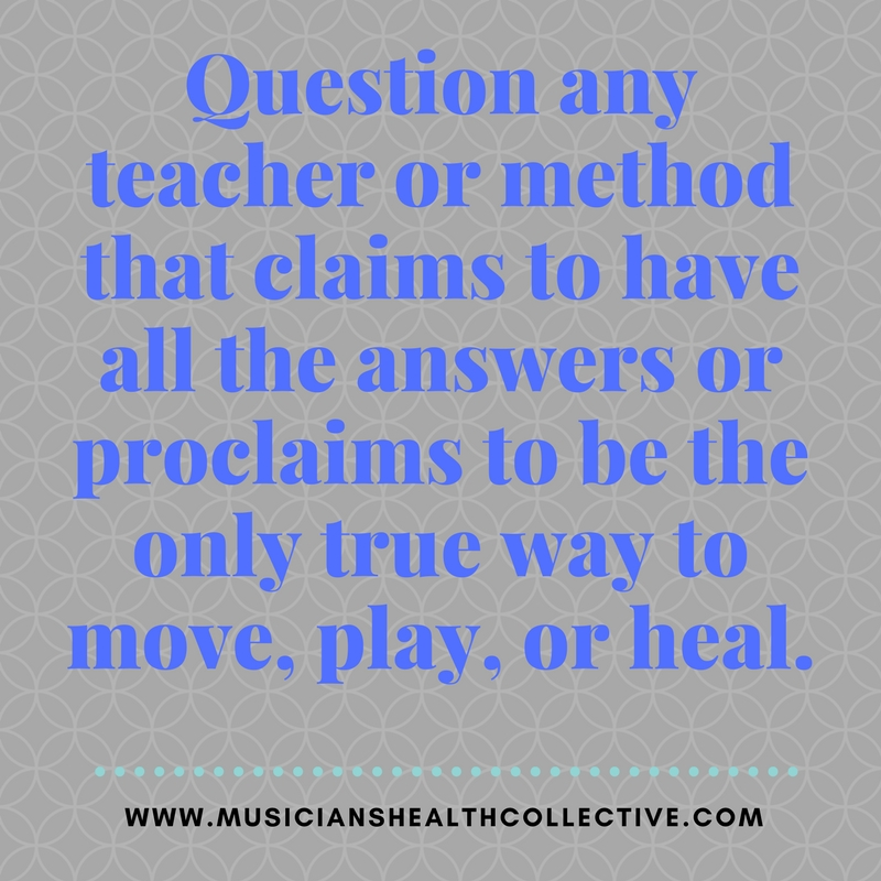 Question any teacher or method that claims to have all the answers or proclaims to be the only true way..jpg