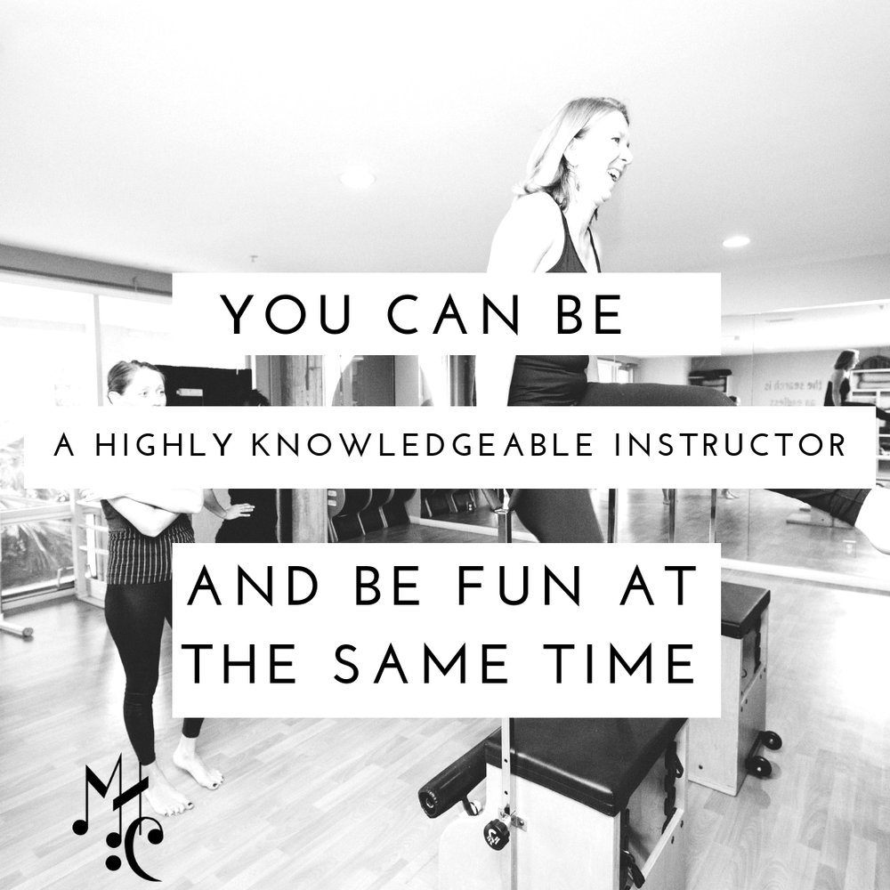 You can be a highly knowledgeable trainer and be fun at the same time..jpg