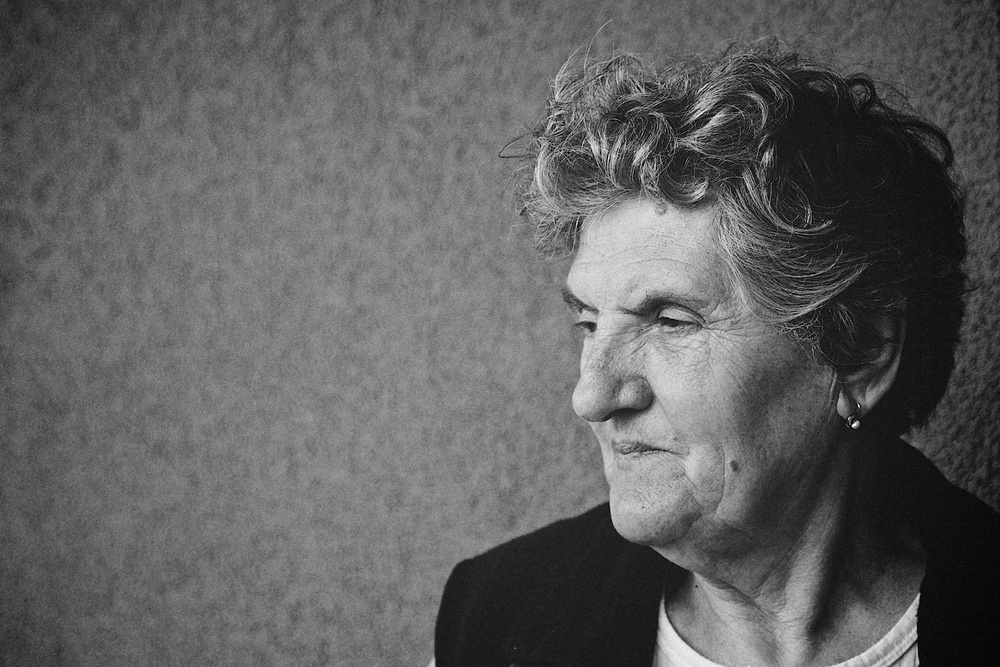 Pensive grandma (photo: Denis Bosnic)