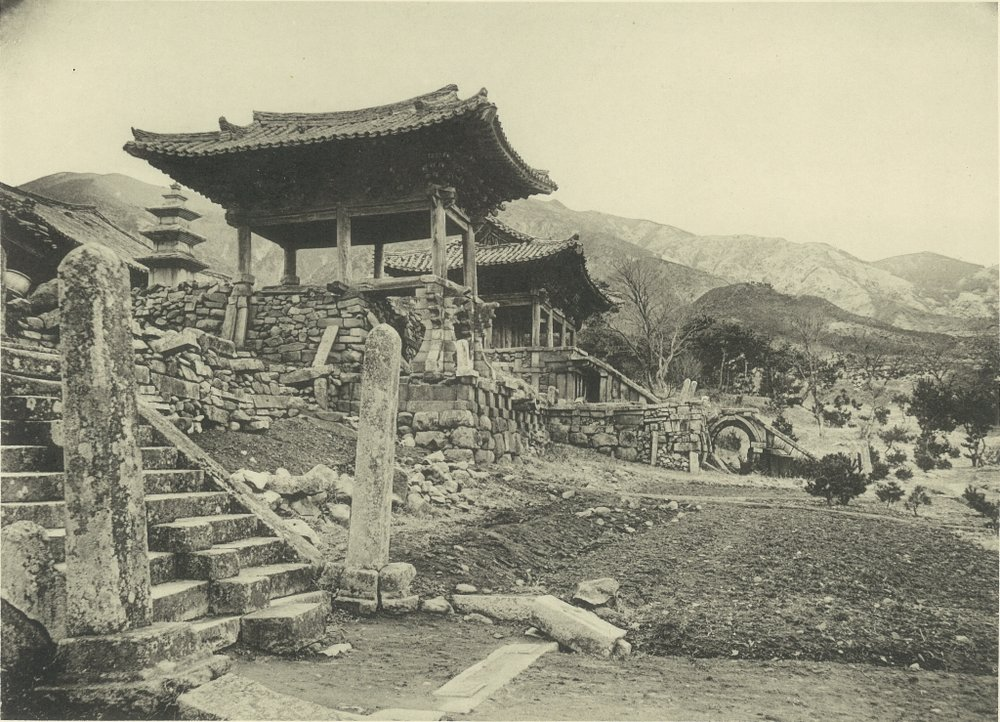 Bulguksa Temple in 1914. (via  Wiki ).