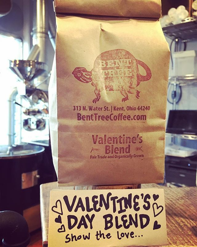 Later holidays, make way for the Valentine's Blend!  Pick some up before the ice/snow storm hits, and if you can't, we'll be here ALL weekend! #snowmageddon #coffee #love  #♥️ 💜 ❤️