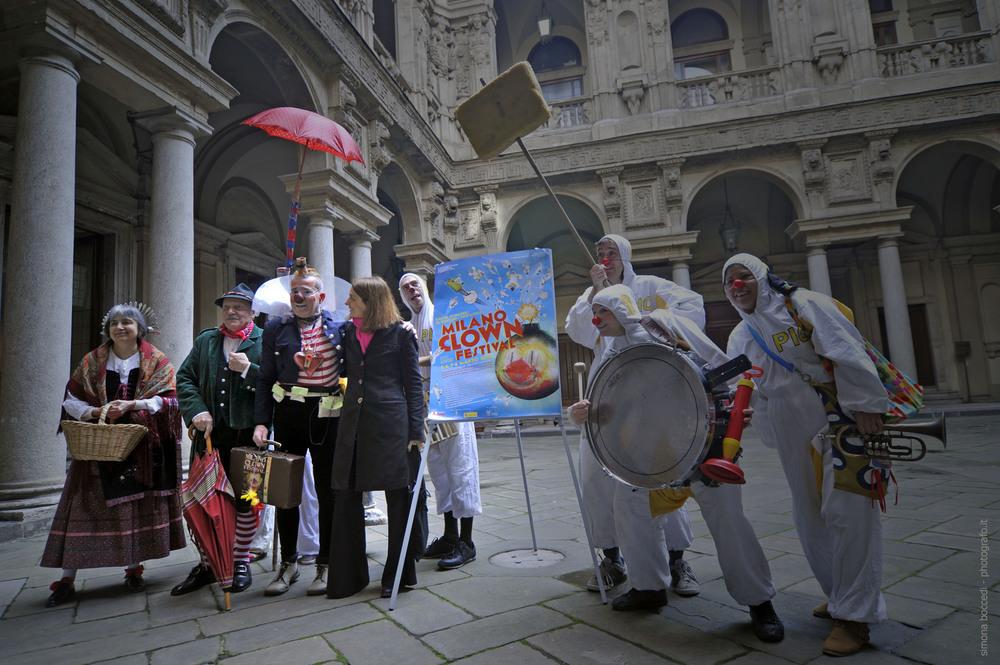 Foto di gruppo con l'Assessore Chiara Bisconti...