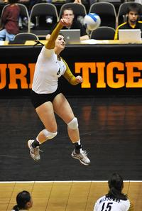 Julianna had a successful volleyball at both the college and professional levels.