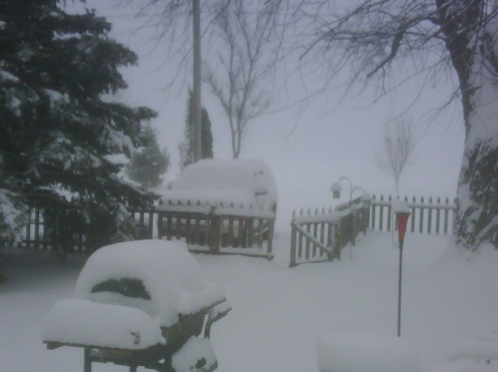 NOT FINLAND!  Keota during 2009-2010 winter.  Yikes!