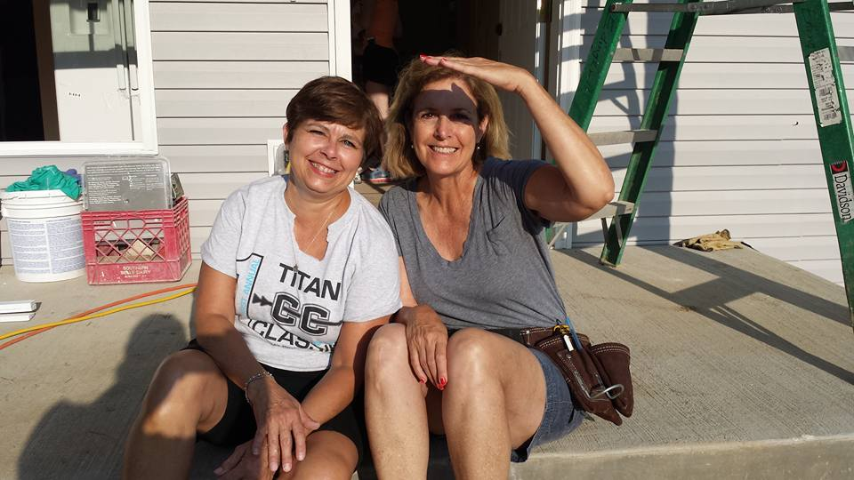 Extreme Build - Sharon and Teri