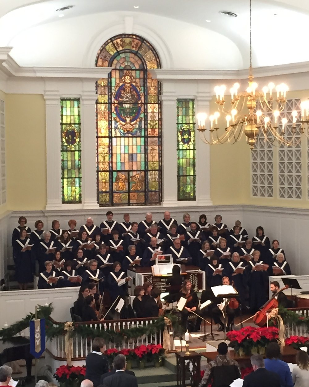 Robert Gammon & the Chancel Choir