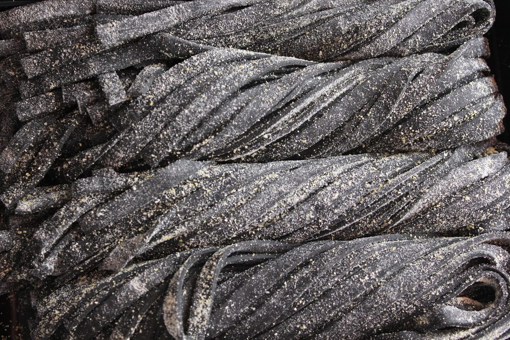 Our Squid Ink pasta.