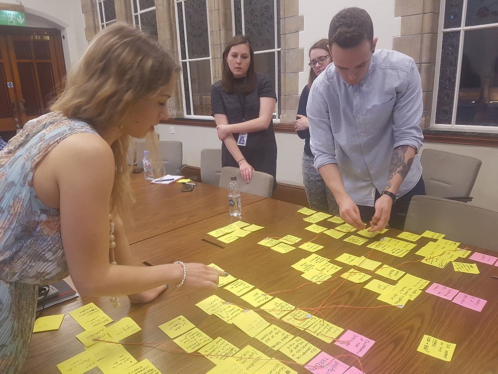 We worked with the client extensively to map out the whale's story, and how we could build a piece that would give the user a broader sense of her journey.