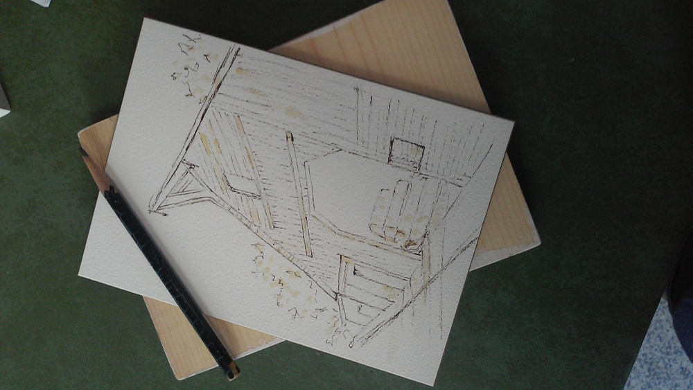Getting drawing on paper