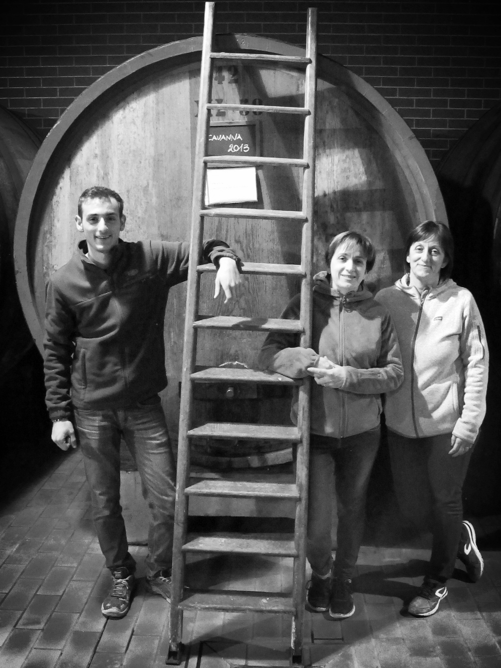Name of winemaker in photo