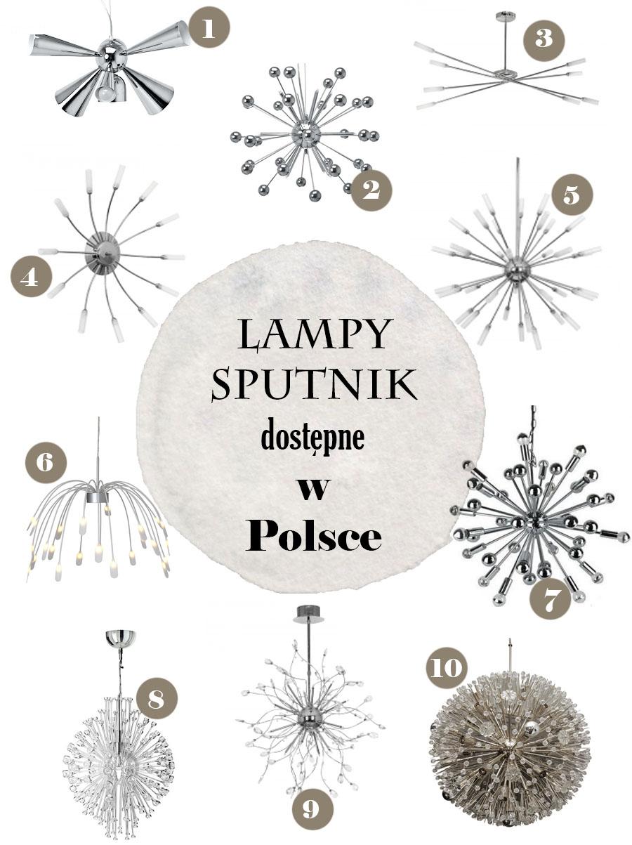 Gdzie kupić lampę sputnik. InteriorsPL.com