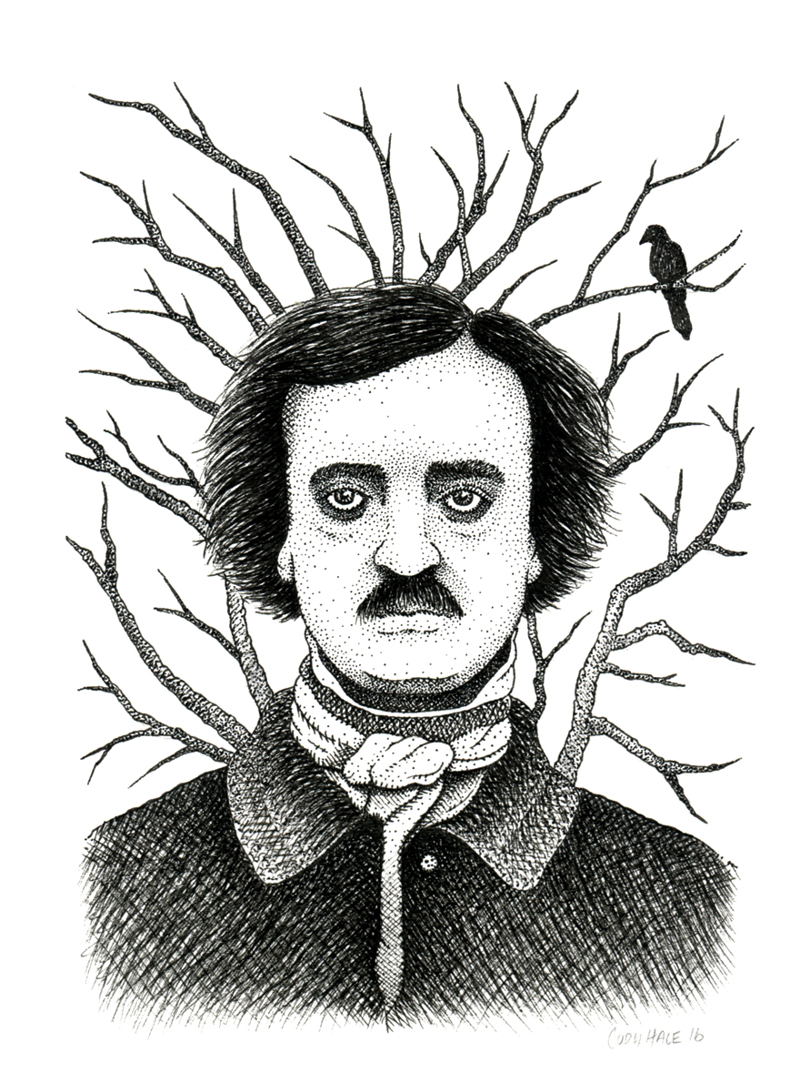 Poe and the Raven