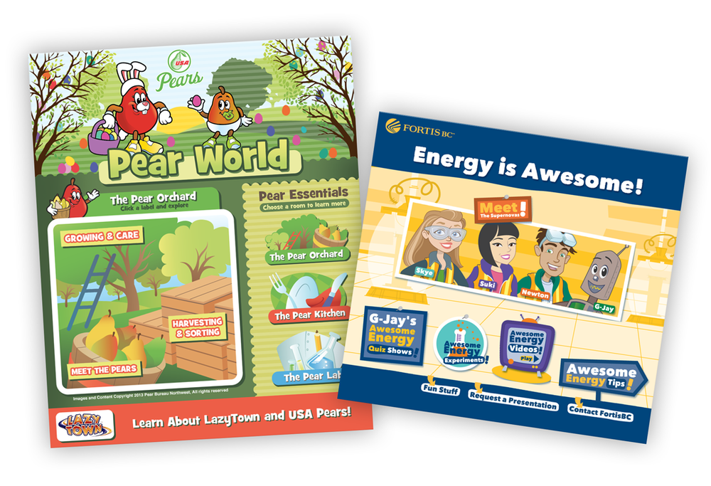 Pear World for Kids / Fortis BC_Energy is Awesome