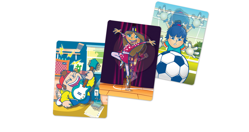 ANIMATED (LENTICULAR) CARDS