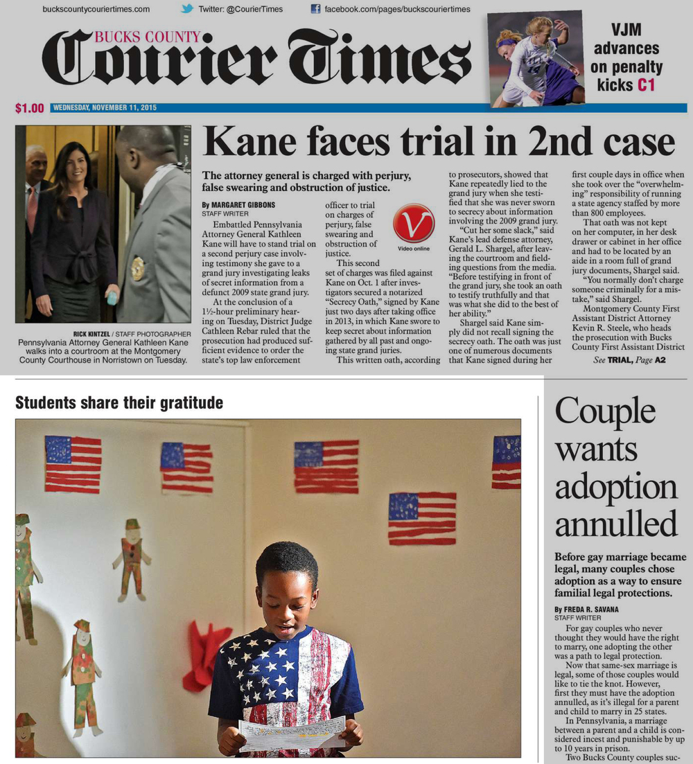11/11/2015 Bucks County Courier Times