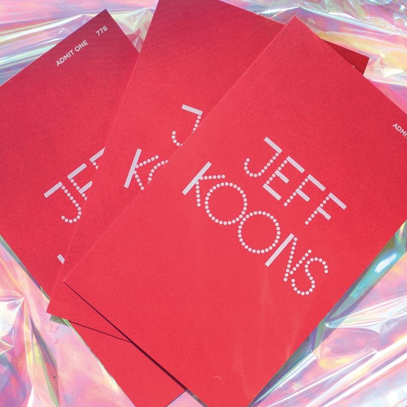 Jeff Koons Tickets