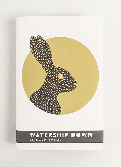Watership Down - Book design - personal project