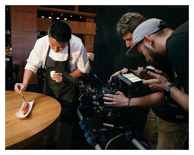BTS from our shoot with the legendary @nobusushiccs located in @atlantisbahamas. Those thirty days flew by, what an incredible shoot!