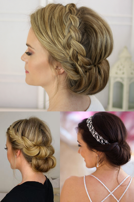 Updos For Thin Fine Hair Yisell Santos Hair Makeup Artist