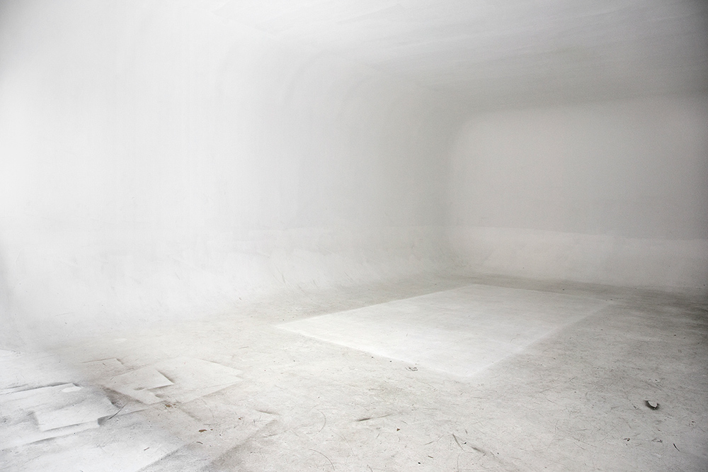 Seamless:  All White , 2011 Digital C-Print 60 x 40 Inches
